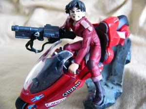 金田とバイク(Ver.3)