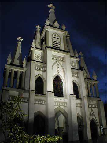 馬込教会(沖の島天主堂)