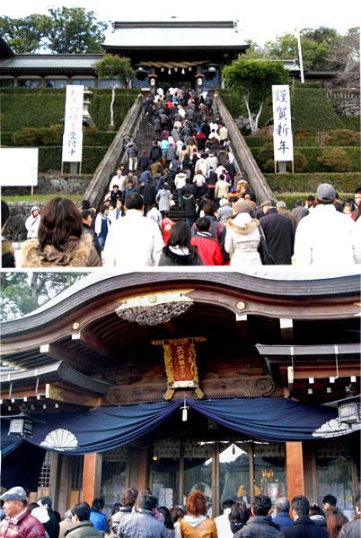 諏訪神社にお参り
