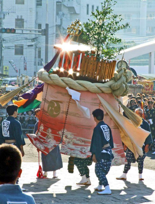 玉園町の傘鉾